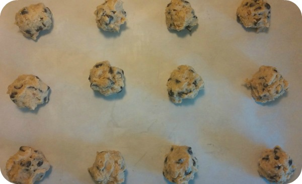 cookie balls rounded