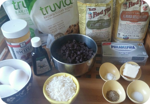 cookie ingredients rounded
