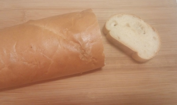 Fresh baked bread is a delicious treat - or you could cheat, like me. I bought this french bread at a bakery and warmed it in the oven. Shhh!