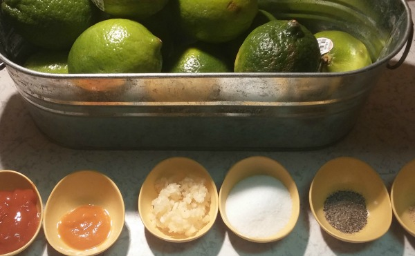 I like to use rocoto and aji amarillo pastes, garlic, salt, pepper and maybe a pinch each of cumin and ginger.