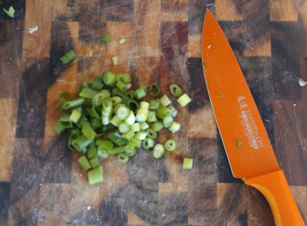 chop chop scallions