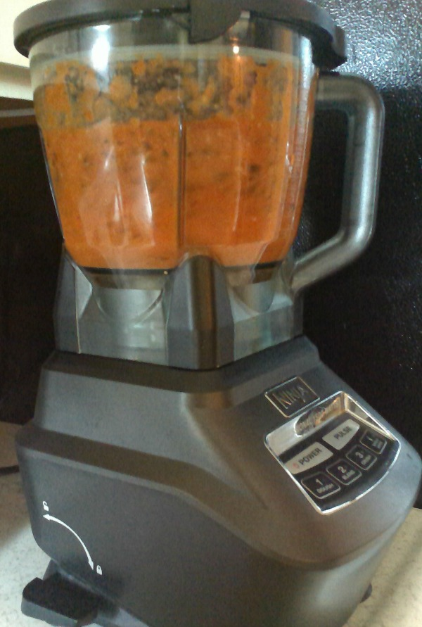 pulverized marinara ingredients