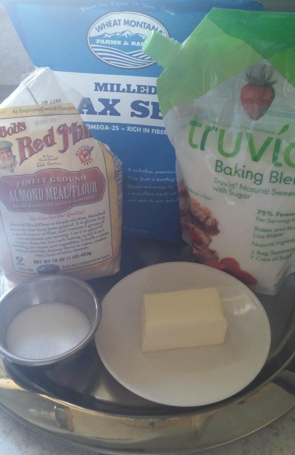 almond flour cookie base