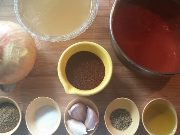 Enchilada Sauce Ingredients
