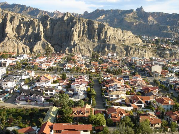 Huancayo village