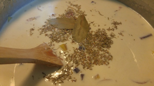 herbed chowder